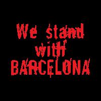 Wir stehen mit Barcelona