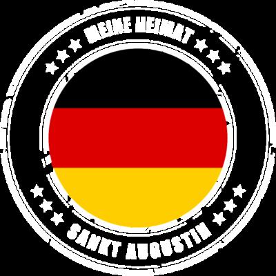 Meine Heimat ist SANKT AUGUSTIN - SANKT AUGUSTIN ist deine Heimatstadt? Dann ist dieses Design für dich! Meine Heimat,Heimat,Stadt,Deutschland,deutsch,städte,schwarz rot gold,Region, Orte, Ort,Stadtname,Metropole,großstadt,Heimatstadt - städte,schwarz rot gold,großstadt,deutsch,city,Stadtname,Stadt,SANKT AUGUSTIN,Region,Orte,Ort,Metropole,Meine Heimat,Heimatstadt,Heimat,Deutschland