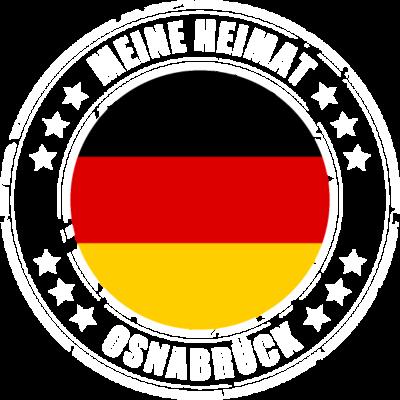 Meine Heimat ist OSNABRÜCK - OSNABRÜCK ist deine Heimatstadt? Dann ist dieses Design für dich! Meine Heimat,Heimat,Stadt,Deutschland,deutsch,städte,schwarz rot gold,Region, Orte, Ort,Stadtname,Metropole,großstadt,Heimatstadt,city - städte,schwarz rot gold,großstadt,deutsch,city,Stadtname,Stadt,Region,Orte,Ort,OSNABRÜCK,Metropole,Meine Heimat,Heimatstadt,Heimat,Deutschland
