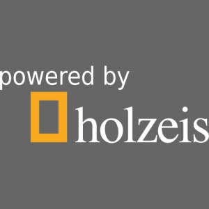 Holzeis Logo powered by