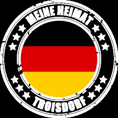 Meine Heimat ist TROISDORF - TROISDORF ist deine Heimatstadt? Dann ist dieses Design für dich! Meine Heimat,Heimat,Stadt,Deutschland,deutsch,städte,schwarz rot gold,Region, Orte, Ort,Stadtname,Metropole,großstadt,Heimatstadt,city - städte,schwarz rot gold,großstadt,deutsch,city,TROISDORF,Stadtname,Stadt,Region,Orte,Ort,Metropole,Meine Heimat,Heimatstadt,Heimat,Deutschland