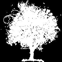 Baum mit Blüten im Frühling