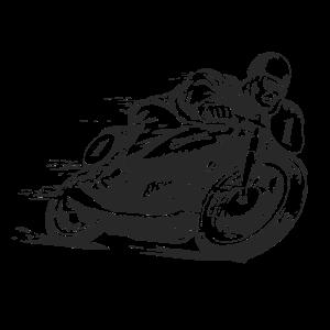 SuperiorS - SPEED RIDER - Motorrad Shirt Motiv