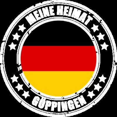 Meine Heimat ist GÖPPINGEN - GÖPPINGEN ist deine Heimatstadt? Dann ist dieses Design für dich! Meine Heimat,Heimat,Stadt,Deutschland,deutsch,städte,schwarz rot gold,Region, Orte, Ort,Stadtname,Metropole,großstadt,Heimatstadt,city - städte,schwarz rot gold,großstadt,deutsch,city,Stadtname,Stadt,Region,Orte,Ort,Metropole,Meine Heimat,Heimatstadt,Heimat,GÖPPINGEN,Deutschland
