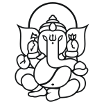 Ganesha Elefant (elephant) No.03