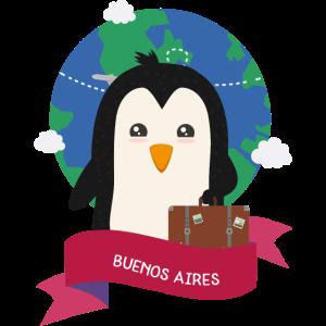 Penguin Globetrotter from BUENOS AIRES Skg1es
