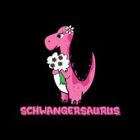 Schwanger Tshirt Mama lustig Geschenk Dinomama