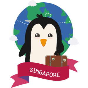 Penguin Globetrotter from SINGAPORE S39eeh