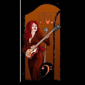 Viola The Bassplayer