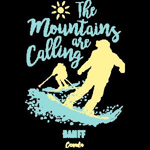 Snowboard Ski Banff Kanada