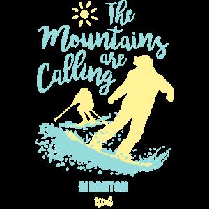 Snowboard Ski Birghton Utah