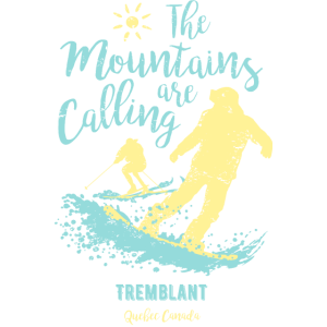 Snowboard Ski Tremblant Quebec Kanada
