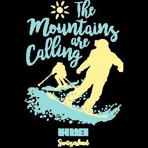 Snowboard Ski Mürren Schweiz