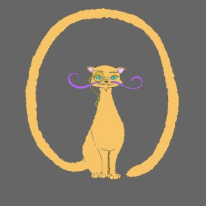 Salvador, le Chat avec une longue queue