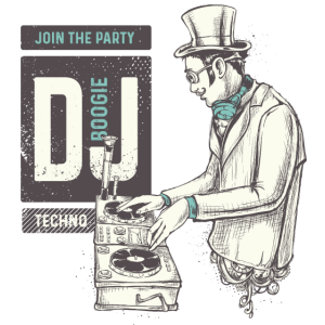 DJ BOOGIE DJ SHIRT