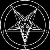 Siegel des Baphomet Metal-Musik-Konzert Pentagramm
