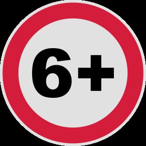 6+ / 6 / 6. / Sechs / Geburtstag / 3c