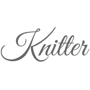 Knitter, dark gray