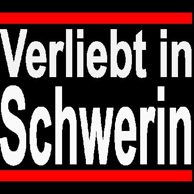 Verliebt in Schwerin - Bist du auch verliebt in Schwerin? Dann ist dieses Design für dich. - sieben seen,Schwerin,sprüche,spass,schweriner,Mecklenburg-Vorpommern,lustig,liebe,spruch,landeshauptstadt schwerin,Verliebt in schwerin,romantisch