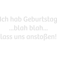 Blah blah schießt FontChoplin GER