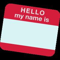 Hallo mein Name
