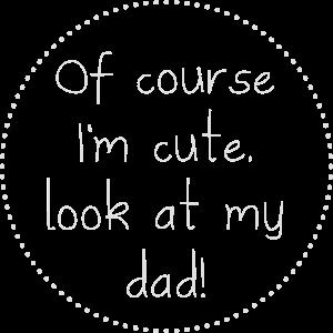 Natürlich Im niedlichen Vater ENG