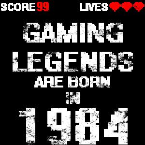 Gaming legend 1984