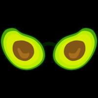 Avocado Brille