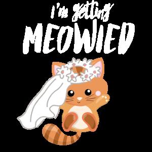 Ich heirate - süße Katze - Verlobung Hochzeit!