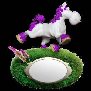 Pony violett