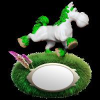 Pony green