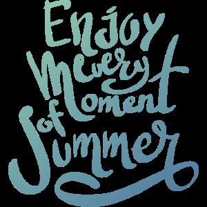 Genießen Sie jeden Moment des Sommers