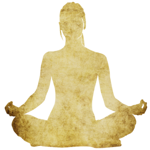 Yoga Frau Gold Pilates Shirt Gymnastik