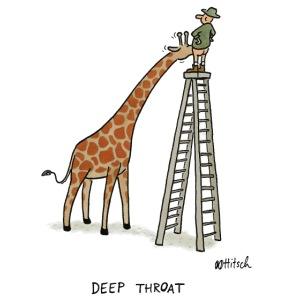 Giraffenblowjob