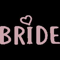 Braut - Junggessellinenabschied - BRIDE Print