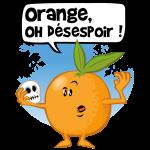 Orange oh verzweifeln!