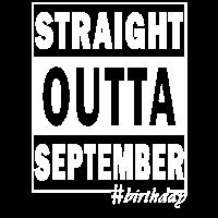 Straight outta September #birthday