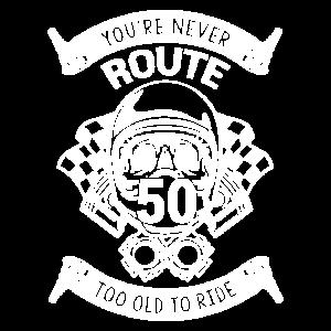 Geschenk für 50 jährige Mottorradfahrer