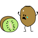 sad kiwi