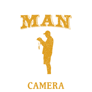 Never Underestimate A Man with a CAMERA fun Shirt