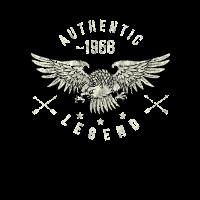 authentic legend 1968 Geburtstag, Geburtsjahr