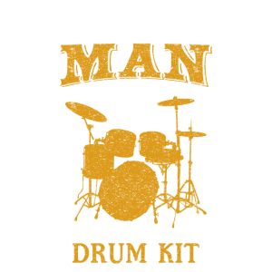 Never Underestimate A Man with a Drum Kit Shirt