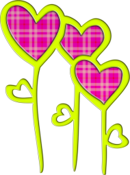 Valentinstag Shirt: heart flowers