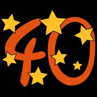 40 mit Sternchen