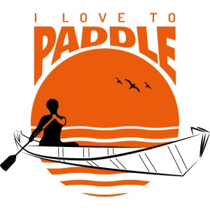 i love to paddle ONAK Faltboot