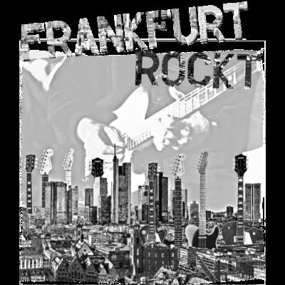 frankfurt rockt - Frankfurt, Skyline aus E-Gitarren - Telecaster,Frankfurt rockt,Rock'n Roll,Frankfurt am Main,Frankfurt,E-Gitarre