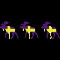 drei schweden elche
