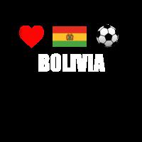 Bolivien Fußball-Hemd - Bolivien Fußball-Trikot