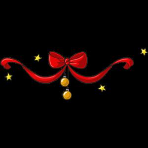 Weihnachten Schleife