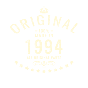 Original Retro Made in 1994 Geburtstag Geschenk